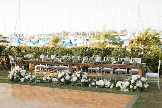 The Dana On Mission Bay Wedding Photo