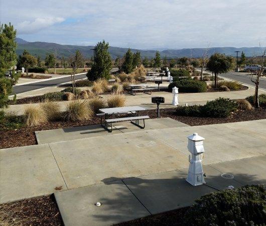 Greenfield, CA: 70 foot space - Row 'B' @ Yanks RV Resort.