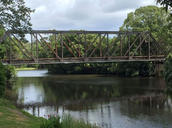 railway bridge, Camden Haven River, Kendall