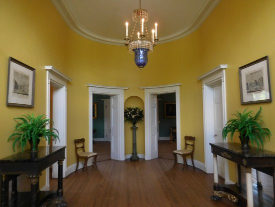 Robert Mills House \u0026 Gardens: Symmetrical Entry with No Staircase & Robert Mills House - Picture of Robert Mills House \u0026 Gardens ...