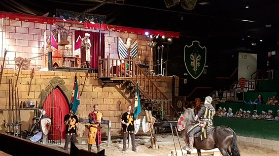 Hotel Magic Villa de Benidorm: Torneo medieval en el Hotel Magic Robin Hood