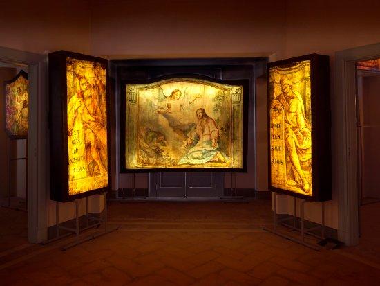Мендризио, Швейцария: Museo del Trasparente