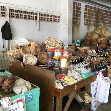 Castries Market Tour