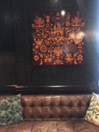 Brisbane Riverview Hotel : Reception waiting area