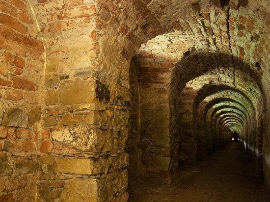 Terezin, Republik Ceko: Podzemní chodby