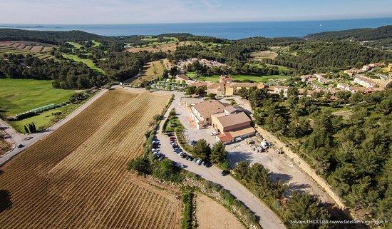 Saint-Cyr-sur-Mer, France: Domaine de Frégate - Vue sur mer, 30 hectares de vignes