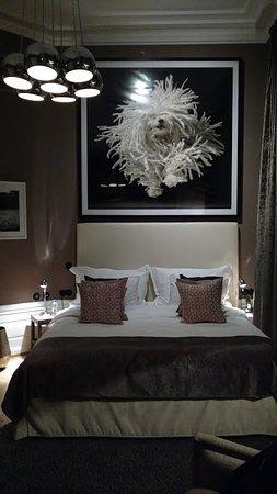 Lydmar Hotel: Photo de la chambre, vue sur le Palais
