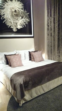 Lydmar Hotel: Lit très confortable au Lydmar Hotel
