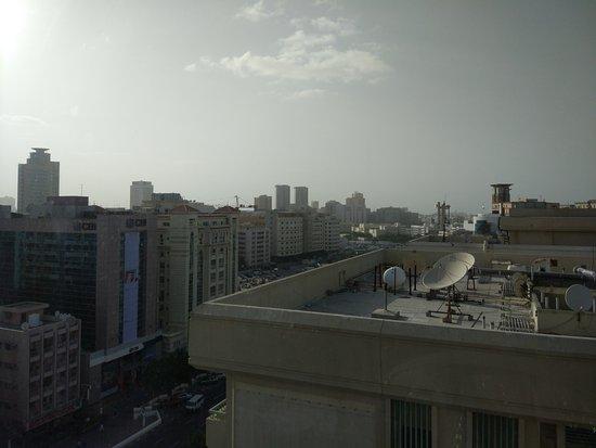 Ibis Al Rigga: Вид из окна