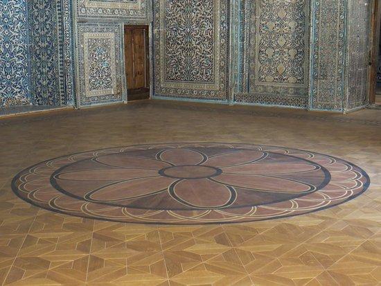 Pakhlavan Makhmud Mausoleum: 廟の中です