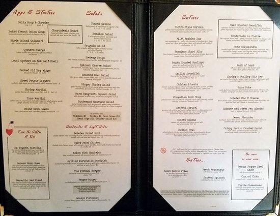 Scargo Cafe Dennis Menu Prices Amp Restaurant Reviews