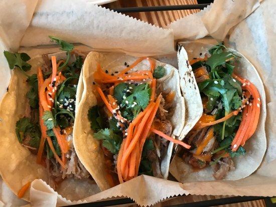 Walpole, NH: Korean Pork Tacos