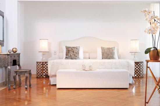 Grecotel Creta Palace Hotel: Palace Luxury Suite, Master Bedroom Suite With  Exclusive Cream Overtones