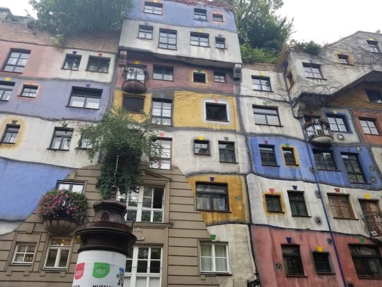 Hundertwasserhaus - ウィーン、...