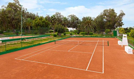 Terrain de Tennis - Picture of Atlantic Palace Agadir, Agadir ...