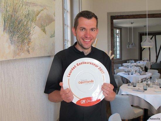 Favieres, France: Lauréat Restaurateur 2017. Concours Bottin Gourmand et CA.