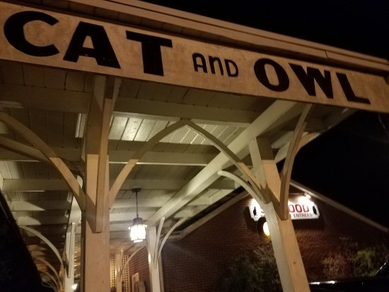 The Cat & Owl--Locals say it really stands for the C&O railroad headquartered nearby.