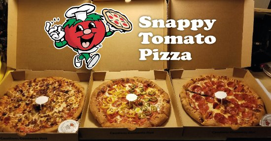 Hope, IN: Snappy Tomato Pizza