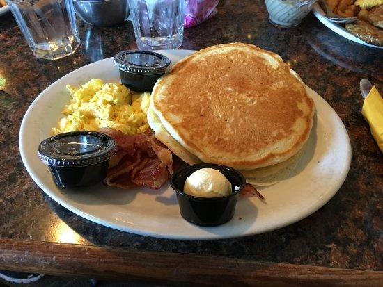 The Springs Dining: pancake sandwich