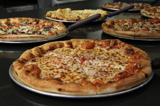 Taylorsville, KY: Selection Of Pizzas