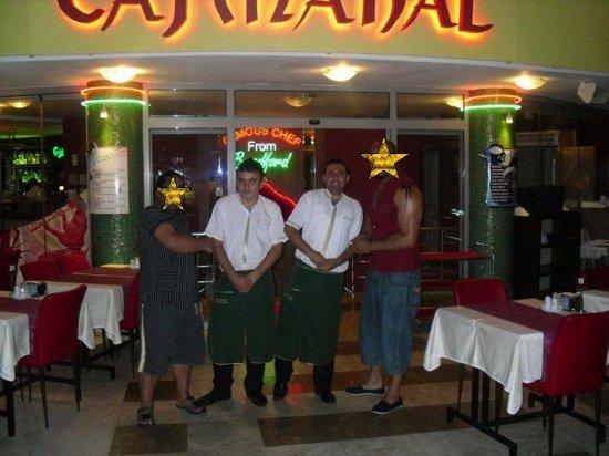 The Taj Mahal: friendly staff