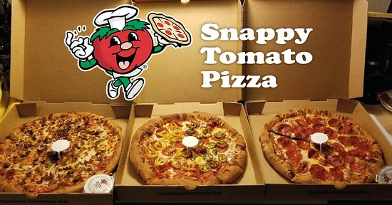 ‪‪West Union‬, ‪Ohio‬: Snappy Tomato Pizza‬
