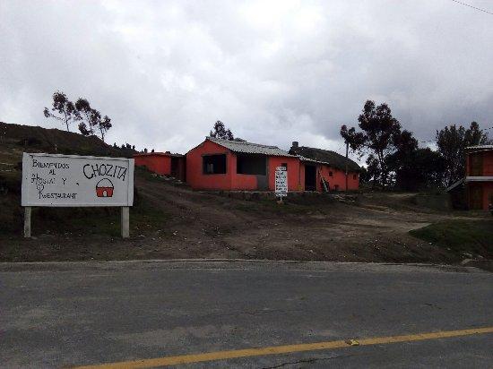 Quilotoa, Équateur : Hostal y Restaurant Chozita
