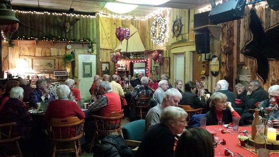 Stayton, Oregón: Methodist Church valentine's dinner