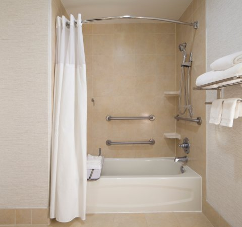 Accessible Bathtub Bathroom - Picture of Hilton Garden Inn Austin ...