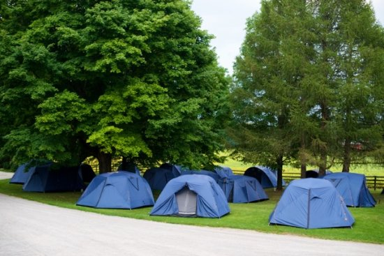 Concord, Canadá: Tents at a wedding