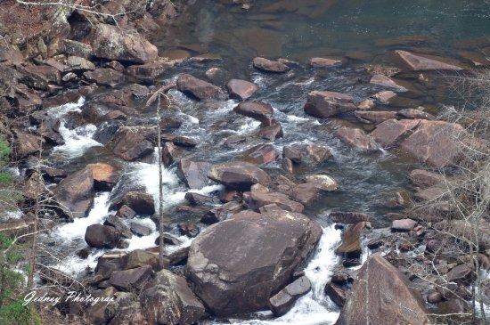 Tallulah Falls, จอร์เจีย: the gorge trail