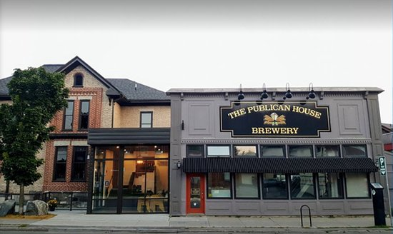 Peterborough, Canada: Publican House Brewery and Pub