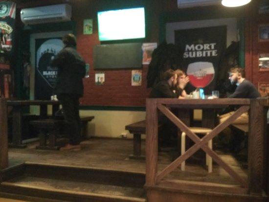 WE Pub: The atmosphere