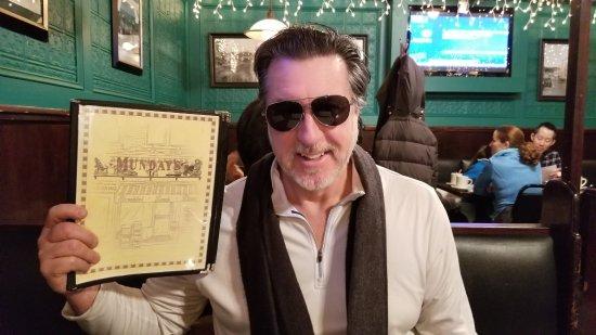 ROSARIO CASSATA AT MUNDAY'S IN HUNTINGTON VILLAGE NEW YORK