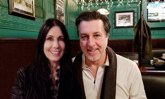 ROSARIO CASSATA AND CAROLYN AT MUNDAY'S IN HUNTINGTON VILLAGE NEW YORK