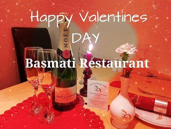 Basmati Restaurant: valentines