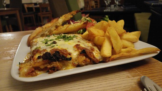 Barton, UK: My lasagna
