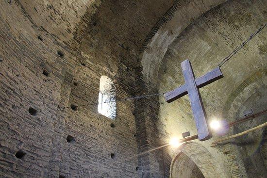 Les Masies de Roda, Spanje: Sant Pere de Caserres, iglesia