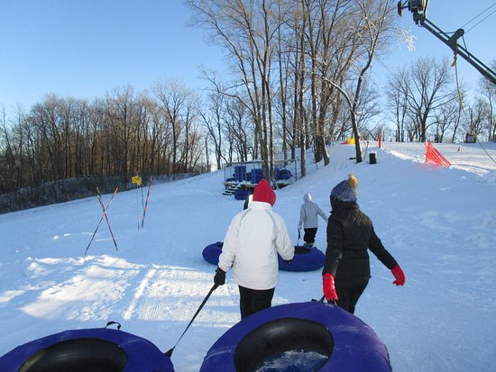Algonquin, إلينوي: getting ready to tube