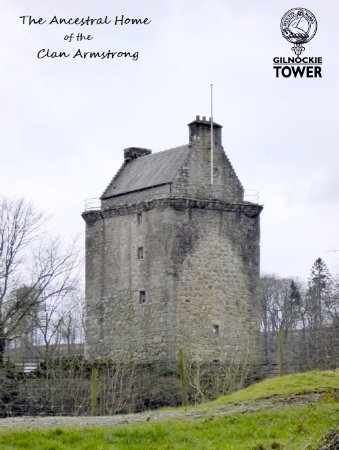 Canonbie, UK: Gilnockie Tower Reiver Centre taken from the North side of the tower.