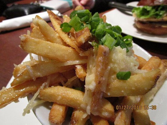 STACKED: Food Well Built: Garlic Parmesan Fries...delicious