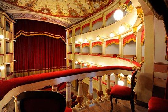 Pomarance, Italien: Palcoscenico e palchi