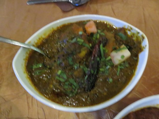 South Brunswick, NJ: Hara Masala Fish Curry