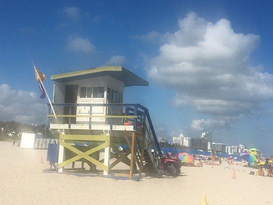The Barbizon: najbliższe wejście na plażę