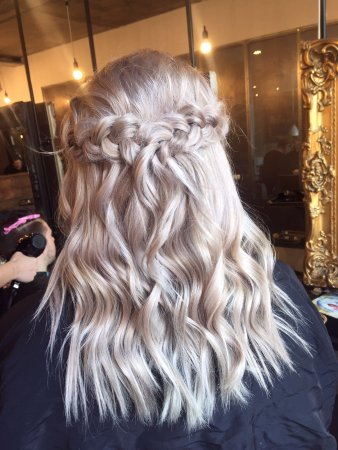Silver Hair And Braid At Live True London Vauxhall Hair And Beauty