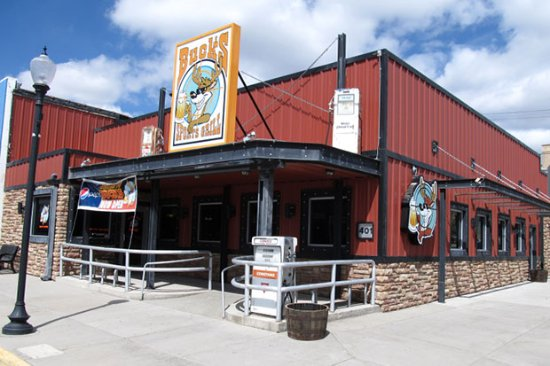 Buck's Sports Grill - Rawlins, WY exterior entrance