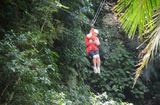 Jaguar Paw Cave Tubing and Jungle Zipline