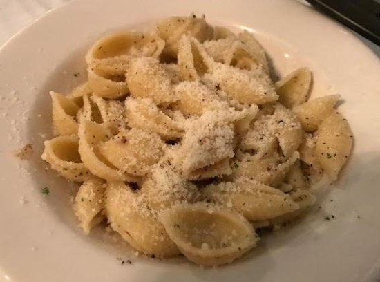 Palos Heights, IL: Pasta sauteed in garlic and olive oil