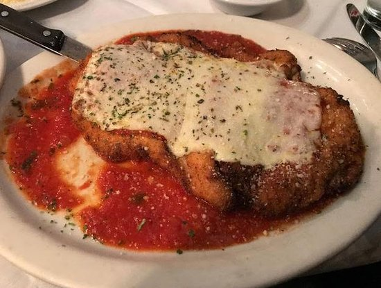 Palos Heights, IL: The best chicken parm you will ever eat!