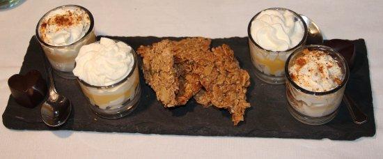 Tarbena, Spanien: Room met dulce de leche en advokaat / amandel-koekjes